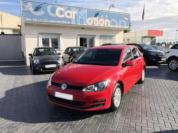 VW GOLF 1.6 TDI  BLUEMOTION